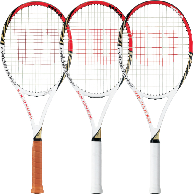 wilson pro staff six one tennis range for 2012