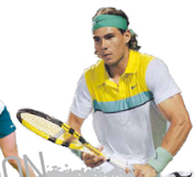 rafa uses the aero pro drive gt tennis rackets