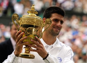 Novak Djokovic wins his first wimbledon using the HEAD IG SPEED PRO
