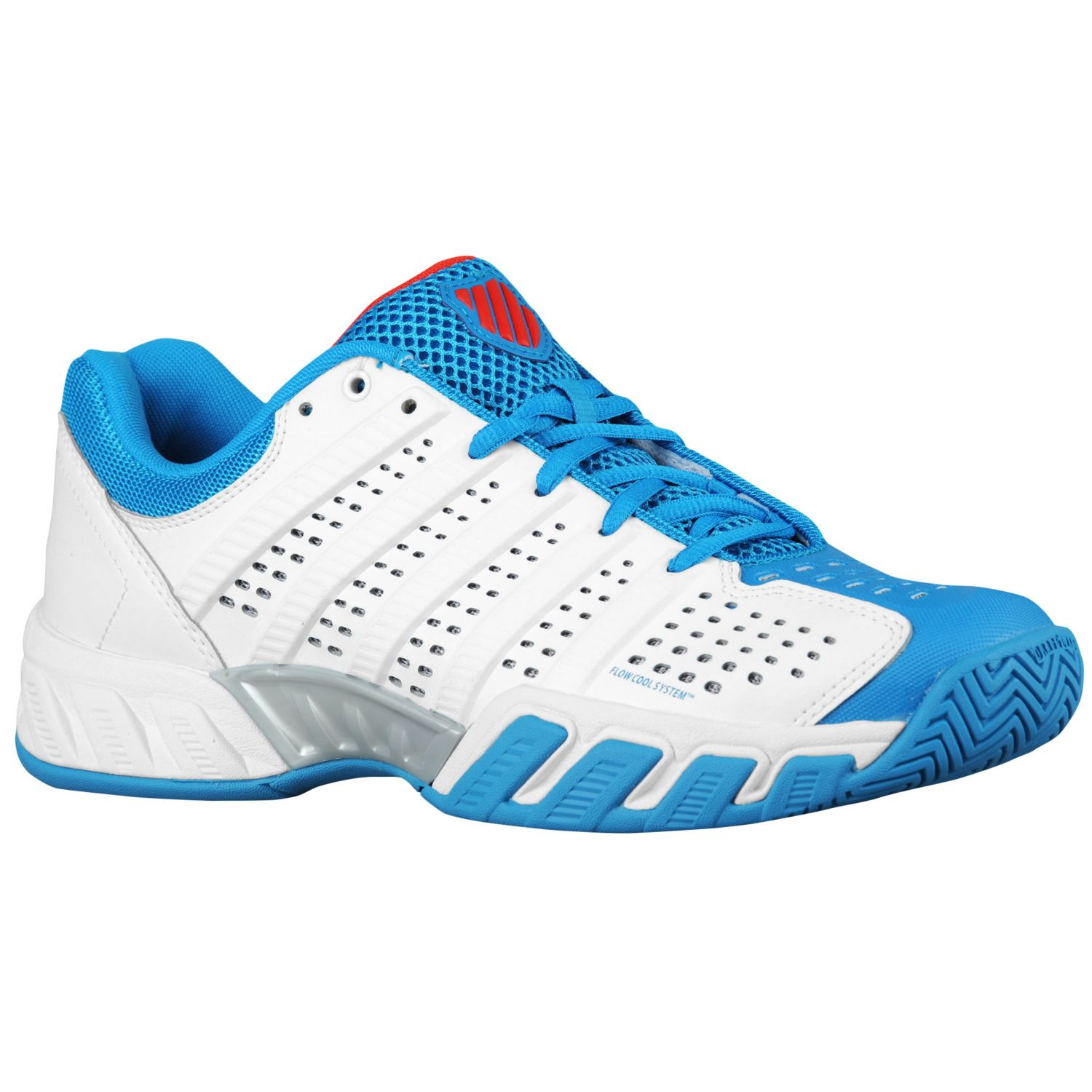 K Swiss Big Shot Light 2.5 Mens White-Blue