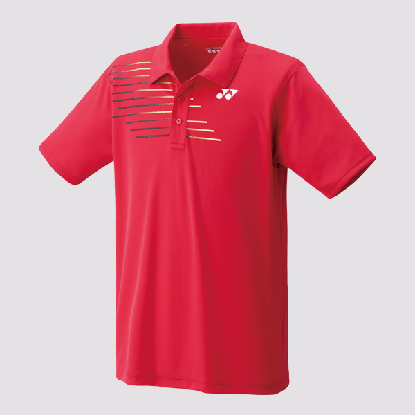 Yonex Mens Polo Shirt 12133 Red
