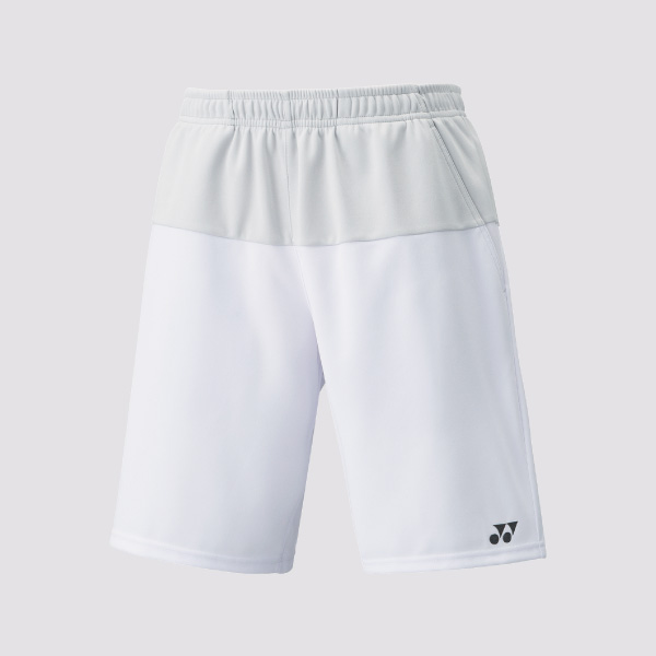 Yonex Men Shorts 15039EX Ice Grey-White