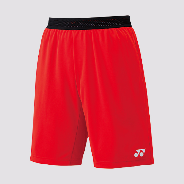 Yonex Mens Shorts 15075 Fire Red 2019