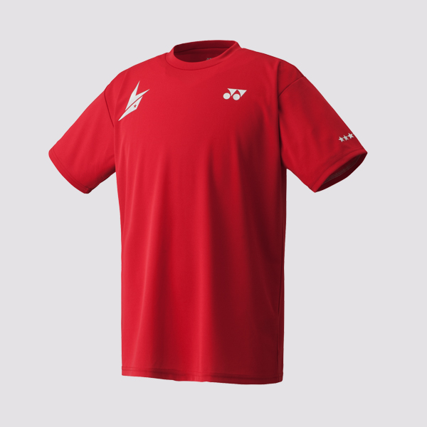 Yonex Mens Shirt 16004LDEX Lin Dan Edition Dark Red