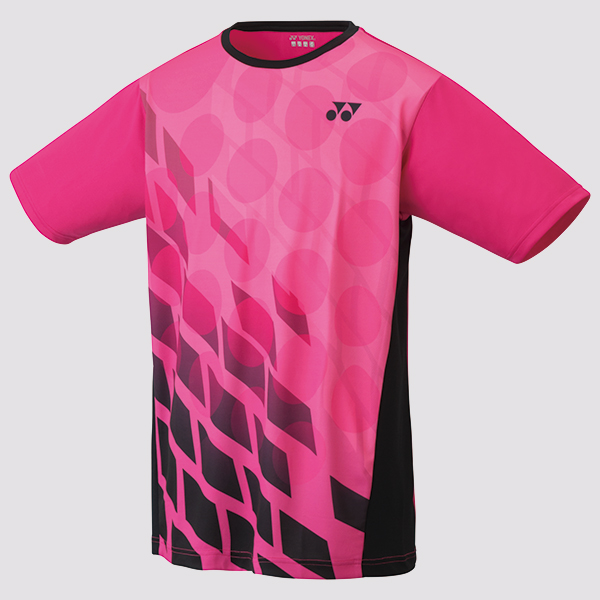Yonex Limited Edition Men's 16369 T-Shirt Blk-Pink