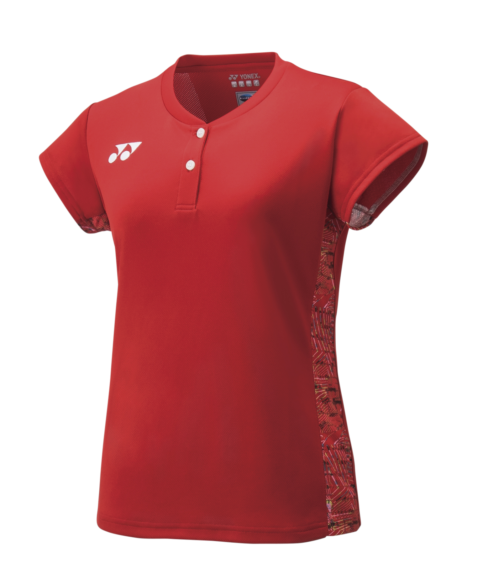 Yonex Womens Cap Sleeve Top 20412 Sunset Red