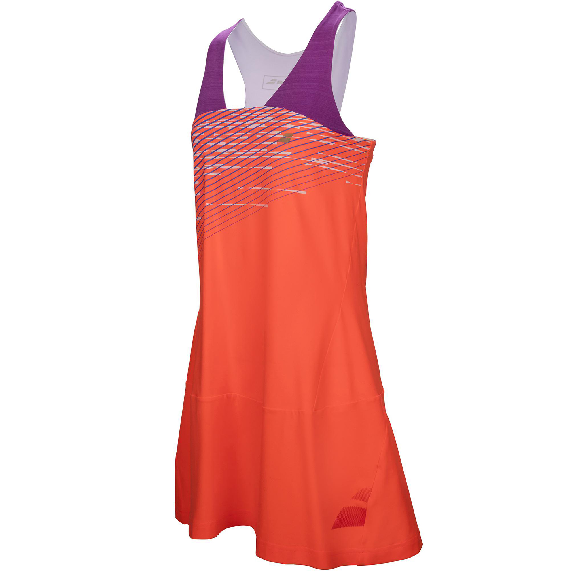 Babolat Girls Perf Racerback dress fluo red