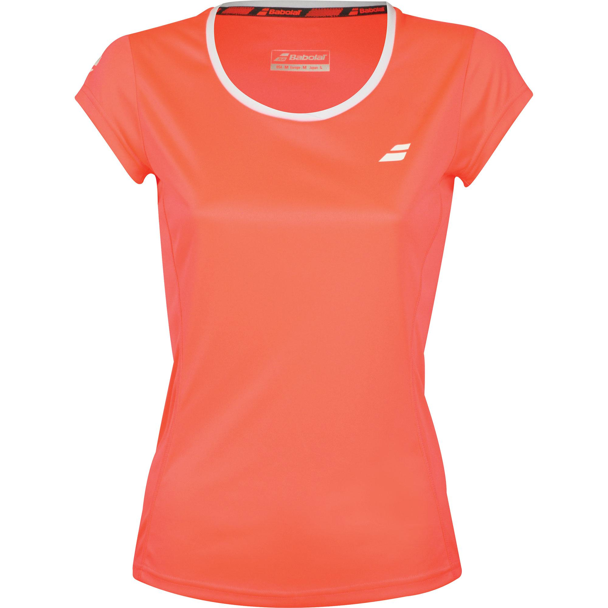 Babolat Core Flag Club Tee Fluo Strike
