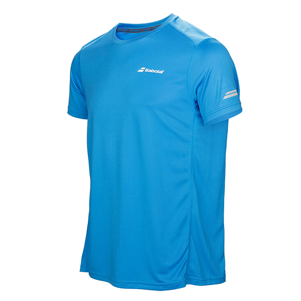 Babolat Boys Core Flag Club Tee Blue