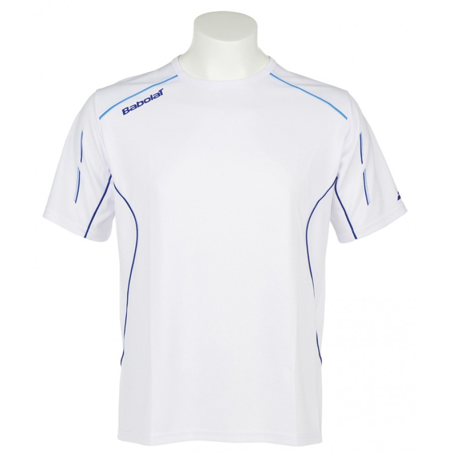 Babolat Mens Match Core T-Shirt White