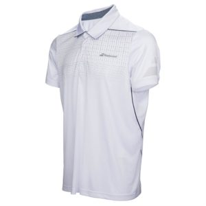 Babolat Mens Performance Polo White
