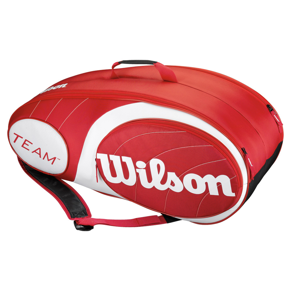 Wilson Team 9 Bag Red
