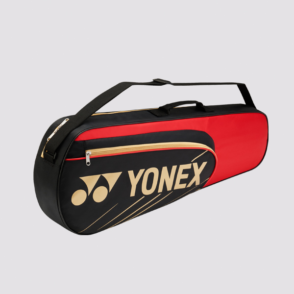 Yonex 3 Racket Bag 4723 Red