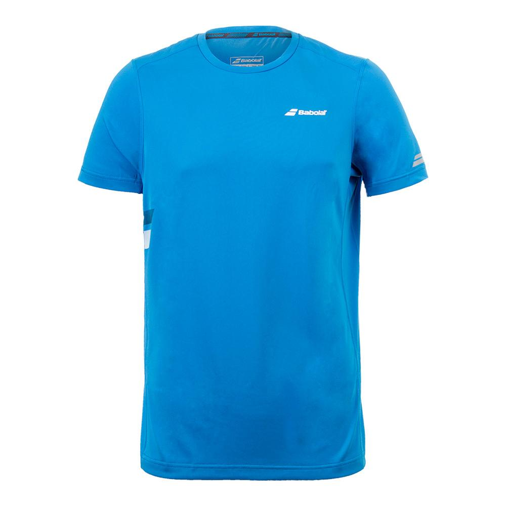 Babolat Mens Core Flag Club Tee Drive Blue