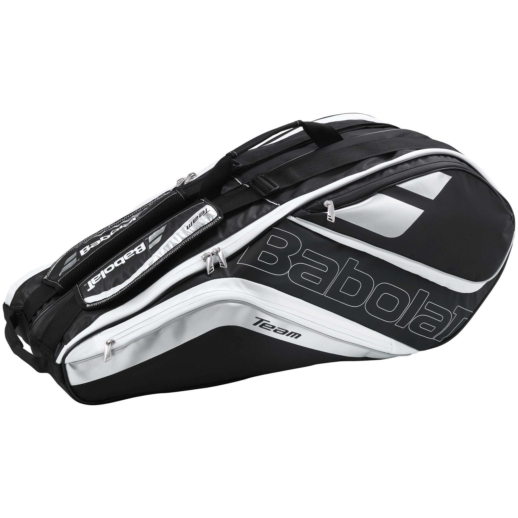 Babolat Team 6 Racket Bag Silver