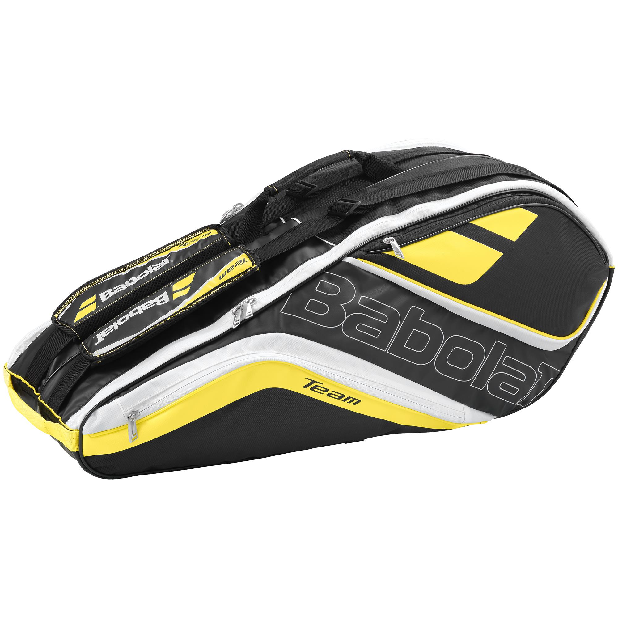 Babolat Team 6 Racket Bag Yellow