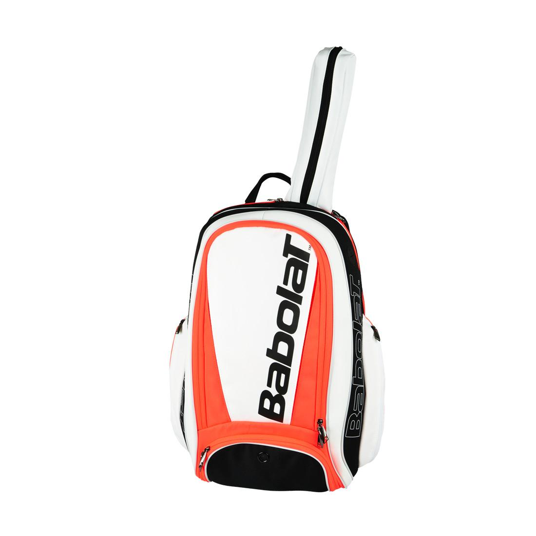 Babolat Pure Strike Backpack Wht-Red