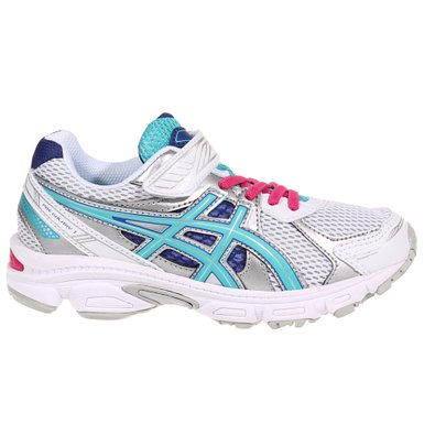Asics Pre Galaxy 7 PS White-Turquoise-Blue