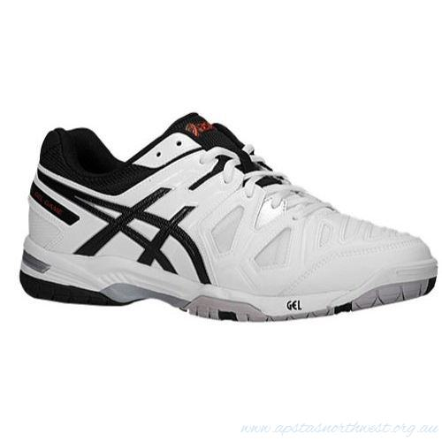 Asics Gel-Game 5 White-Onyx-Chinese Red