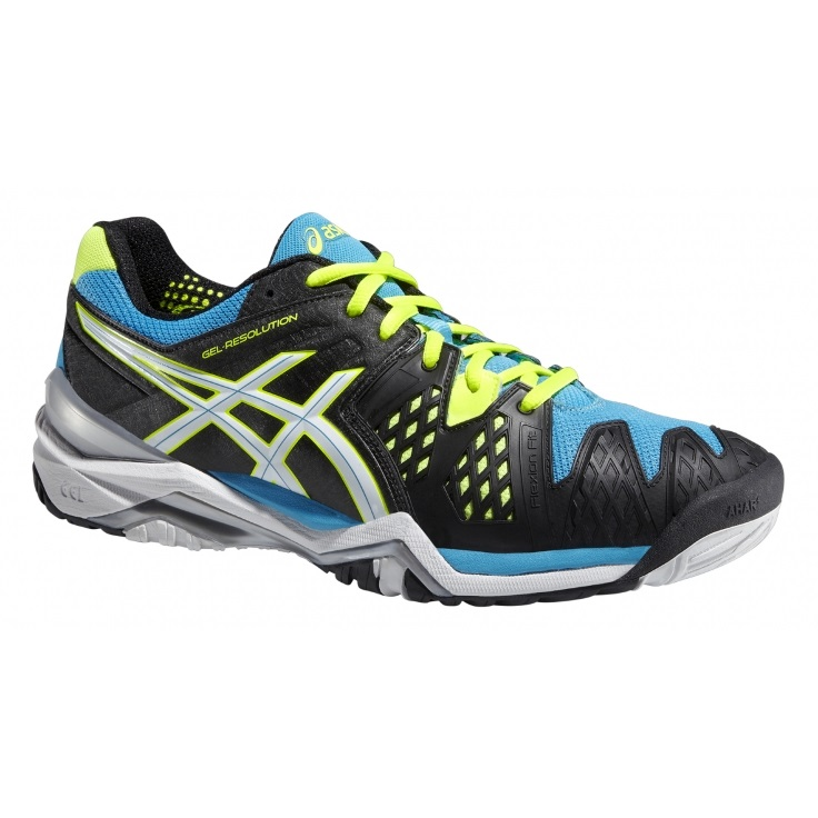 Asics Gel-Resolution 6 Onyx-White-Blue
