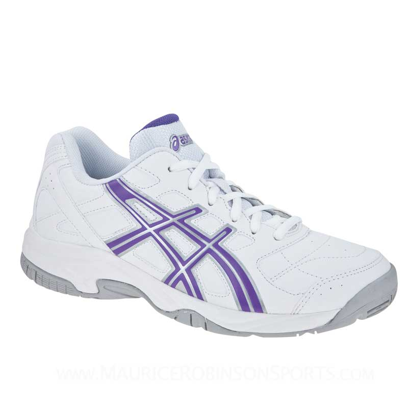 Asics Gel-Estoril Court White-Purple-Silver