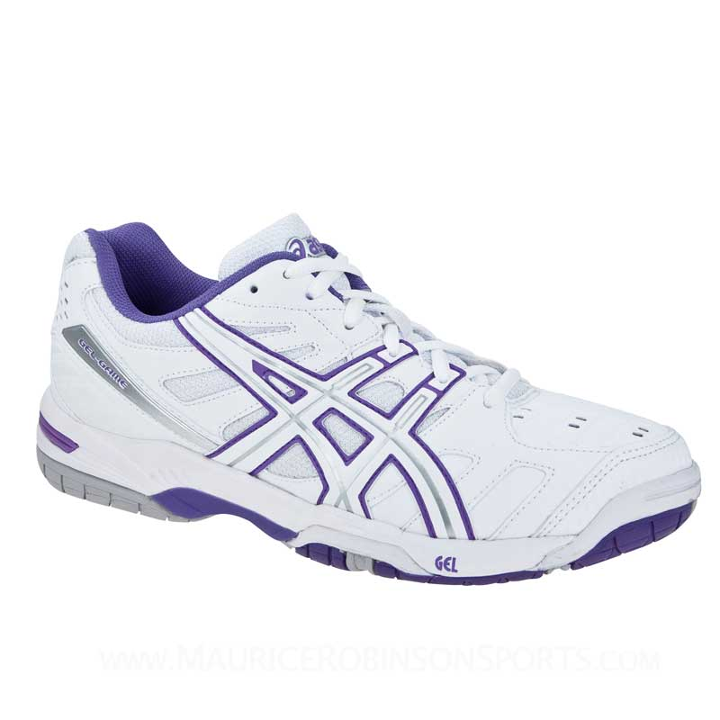 Asics Gel-Game 4 White-Fuchsia-Silver