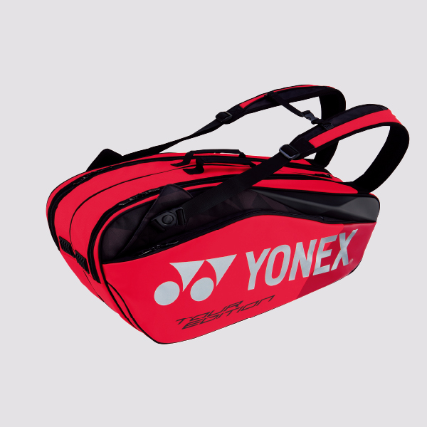 Yonex Pro Racket Bag 9826ex Flame Red 2019