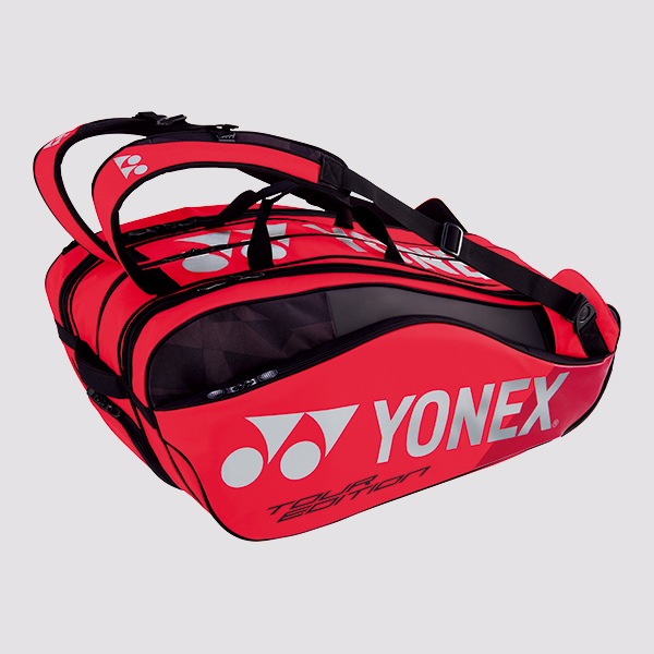 Yonex Pro Racket Bag 9829ex Flame Red 2019