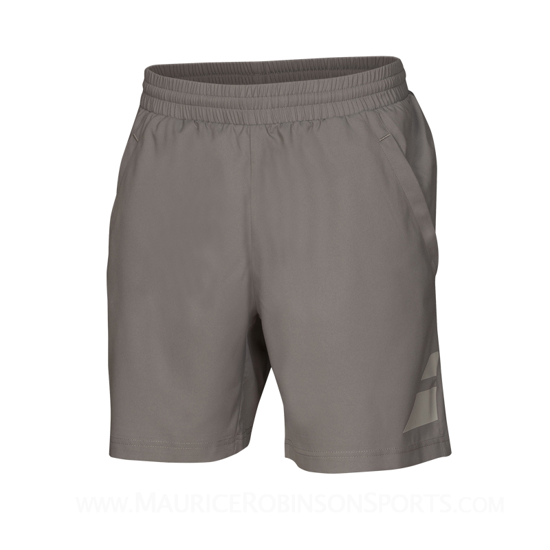 Babolat Mens Performance Short Steel Grey