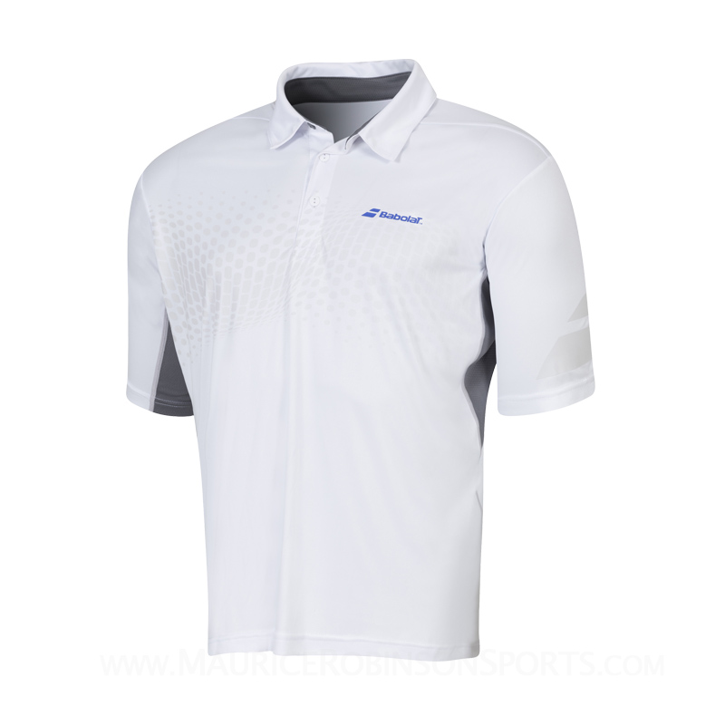 Babolat Boys Performance Polo White