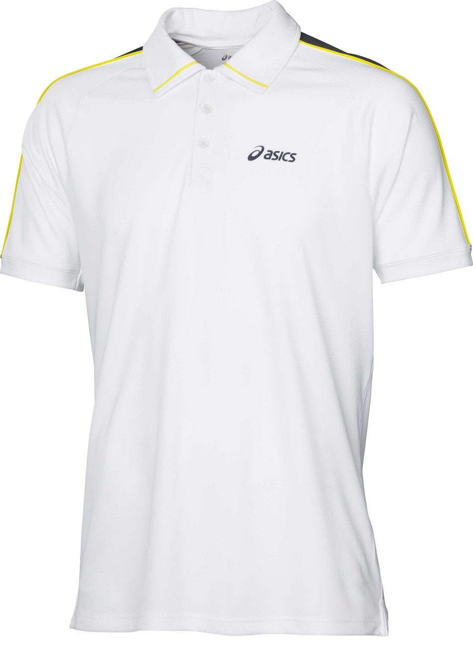 Asics Mens Game Polo White
