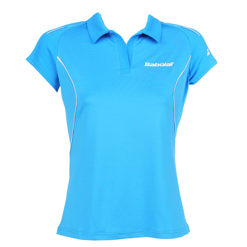Babolat Girls Polo Match Core Turquoise