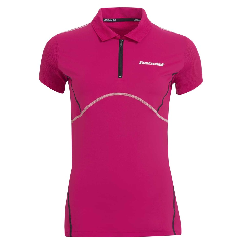 Babolat Ladies Match Performance Polo Cerise