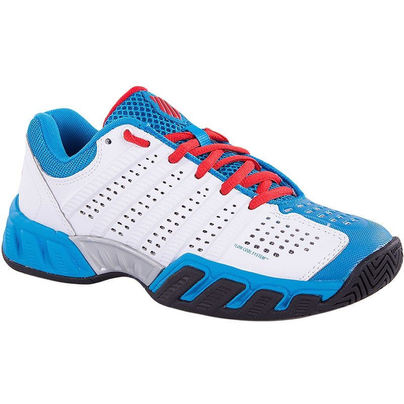 K Swiss Big Shot Light 2.5 Juniors White-Blue