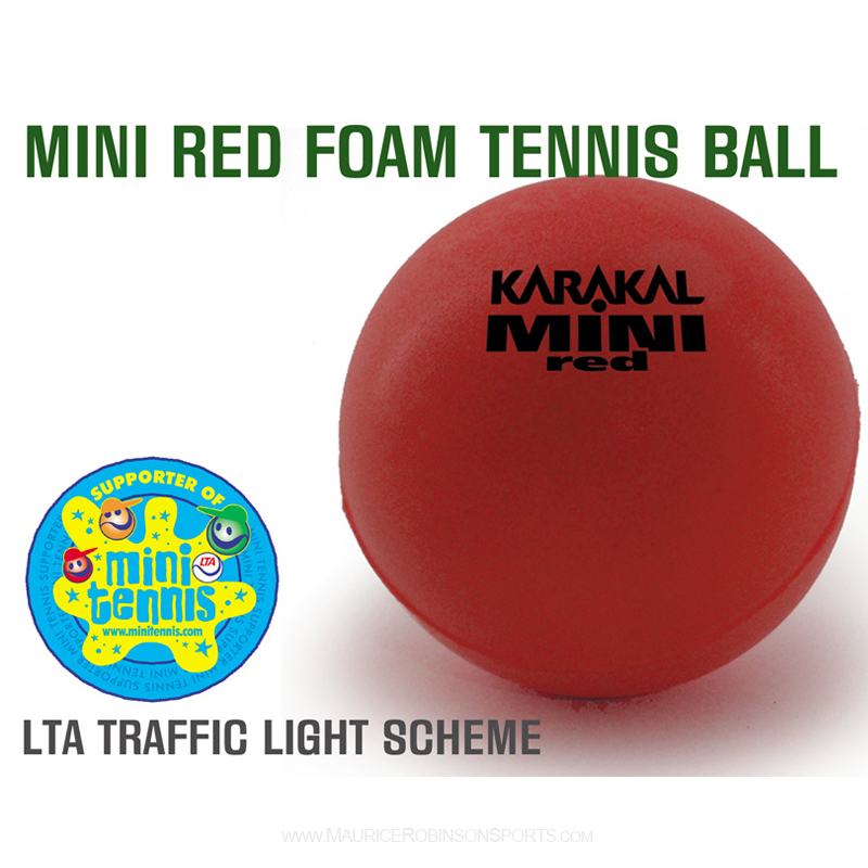 Karakal Mini Tennis Red Foam Balls