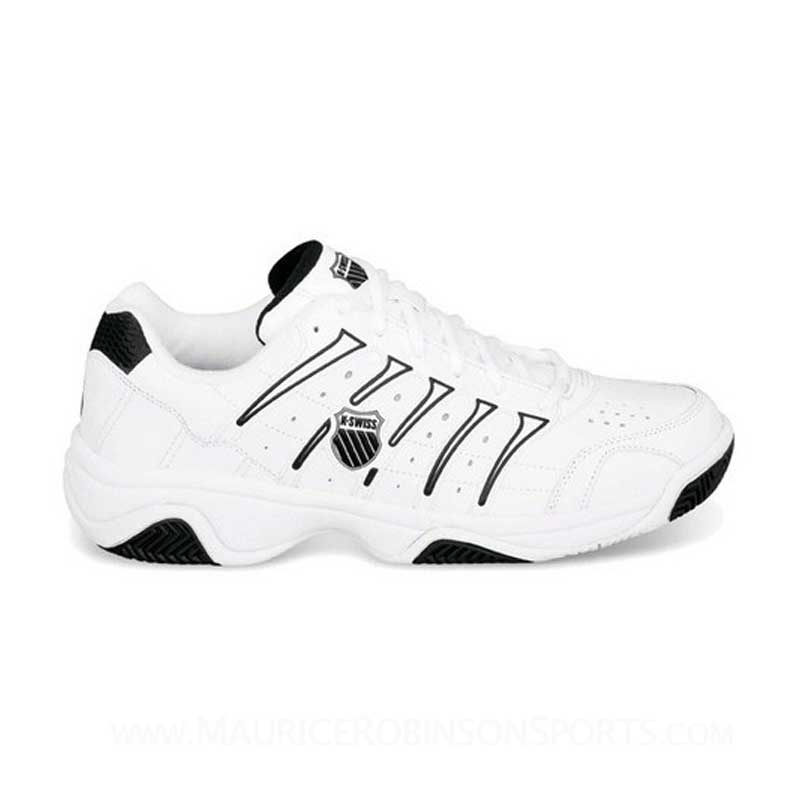K Swiss Grancourt II Mens White-Black