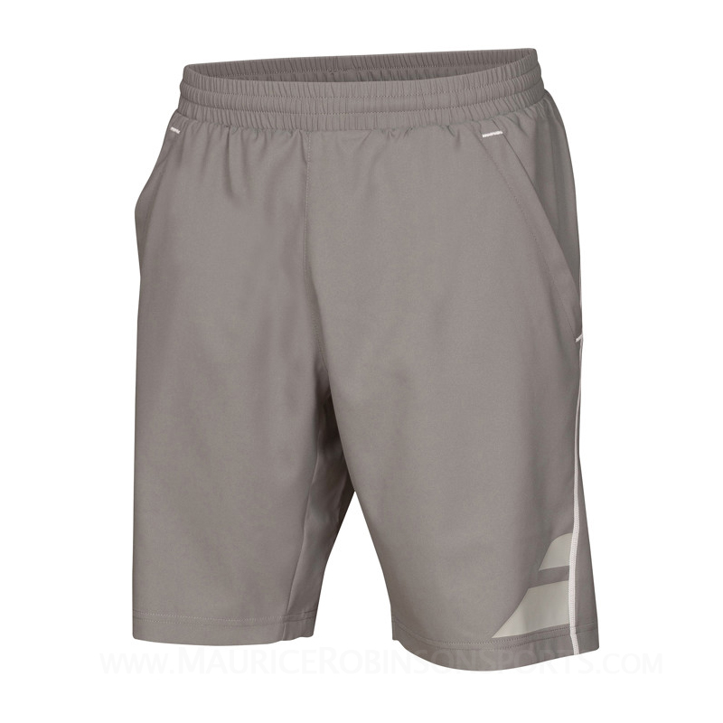 Babolat Mens XLong Performance Short Steel Grey
