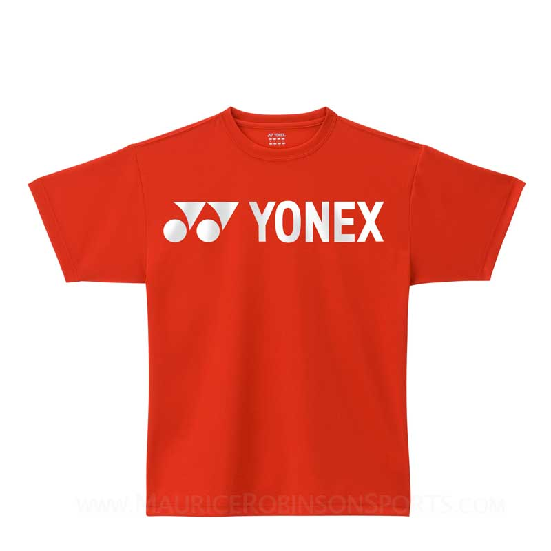 Yonex PT-0020 Mens T-Shirt Red-Navy