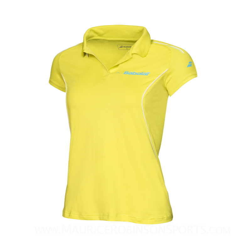 Babolat Ladies Core Polo Lime