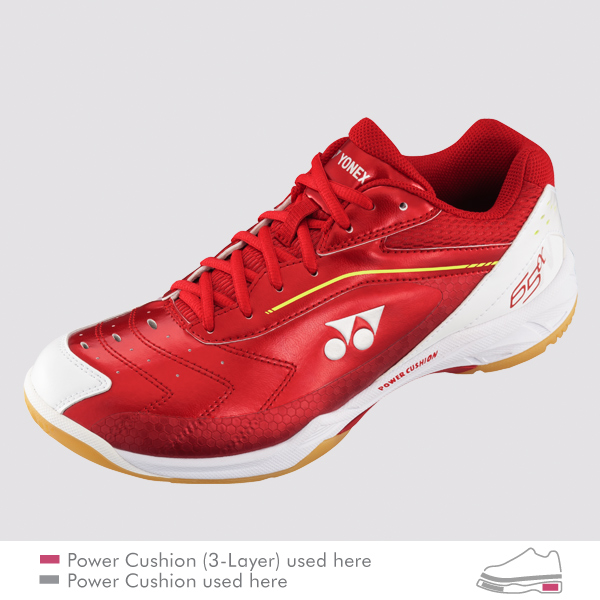 Yonex SHB-65 AW (Wide Fit) Red