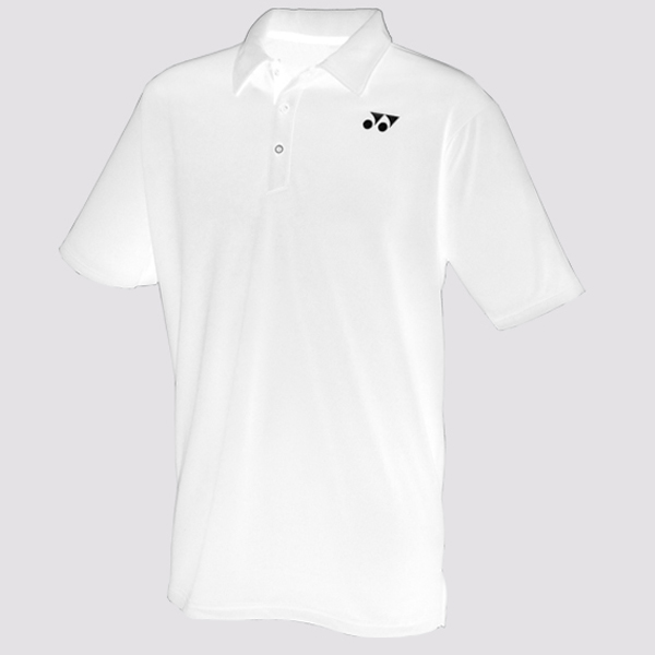 Yonex Junior Polo Shirt YP 1002J White