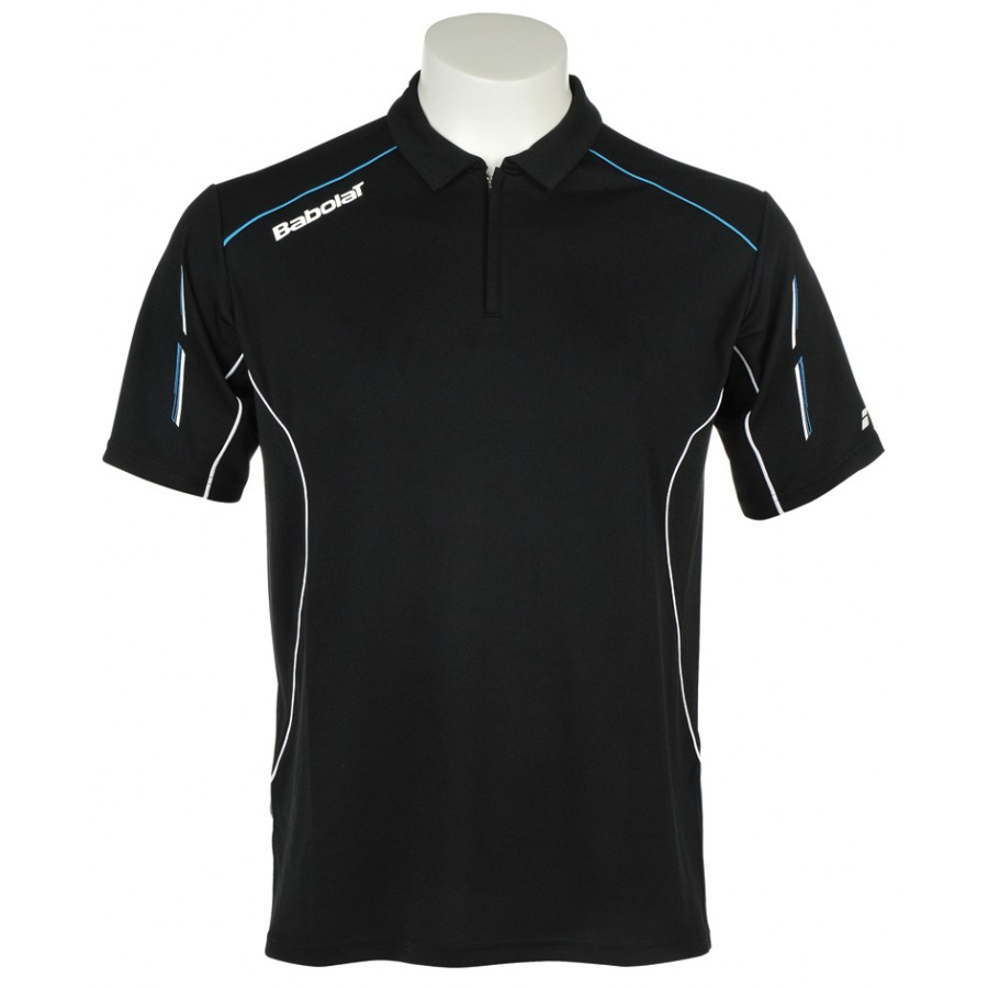 Babolat Boys Match Core T-Shirt Black-Blue