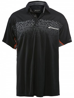 Babolat Boys Performance Polo Black