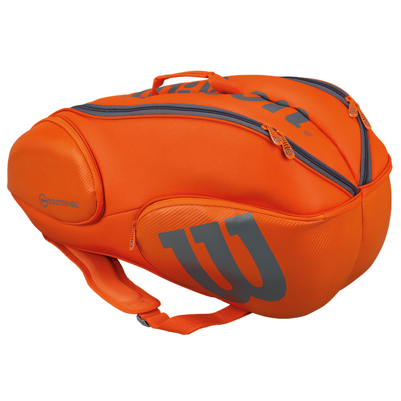 Wilson Vancouver 9 Racket Bag Orange