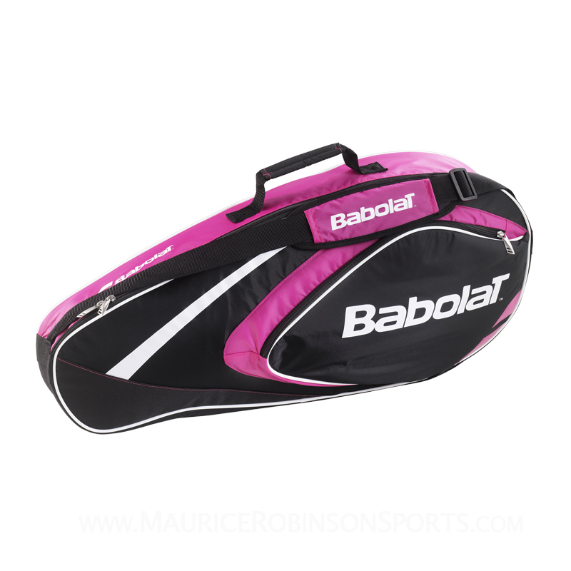 Babolat Badminton Club Line 4 Racket Bag Pink