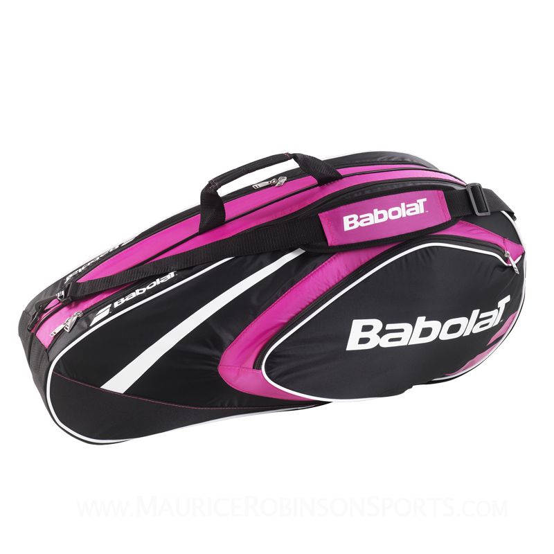 Babolat Badminton Club Line 8 Racket Bag Pink
