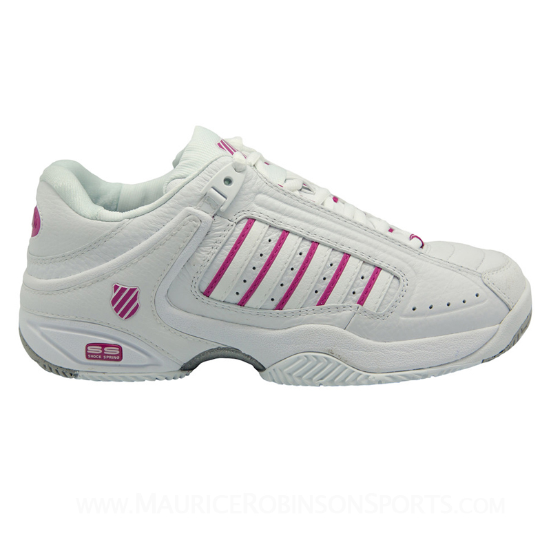K Swiss Womens Defier RS White-Berry