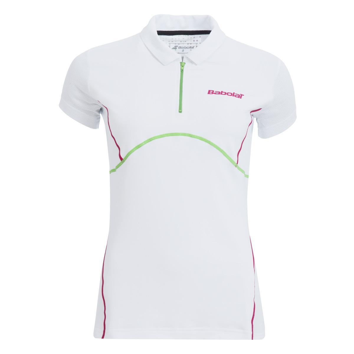 Babolat Ladies Match Performance Polo White