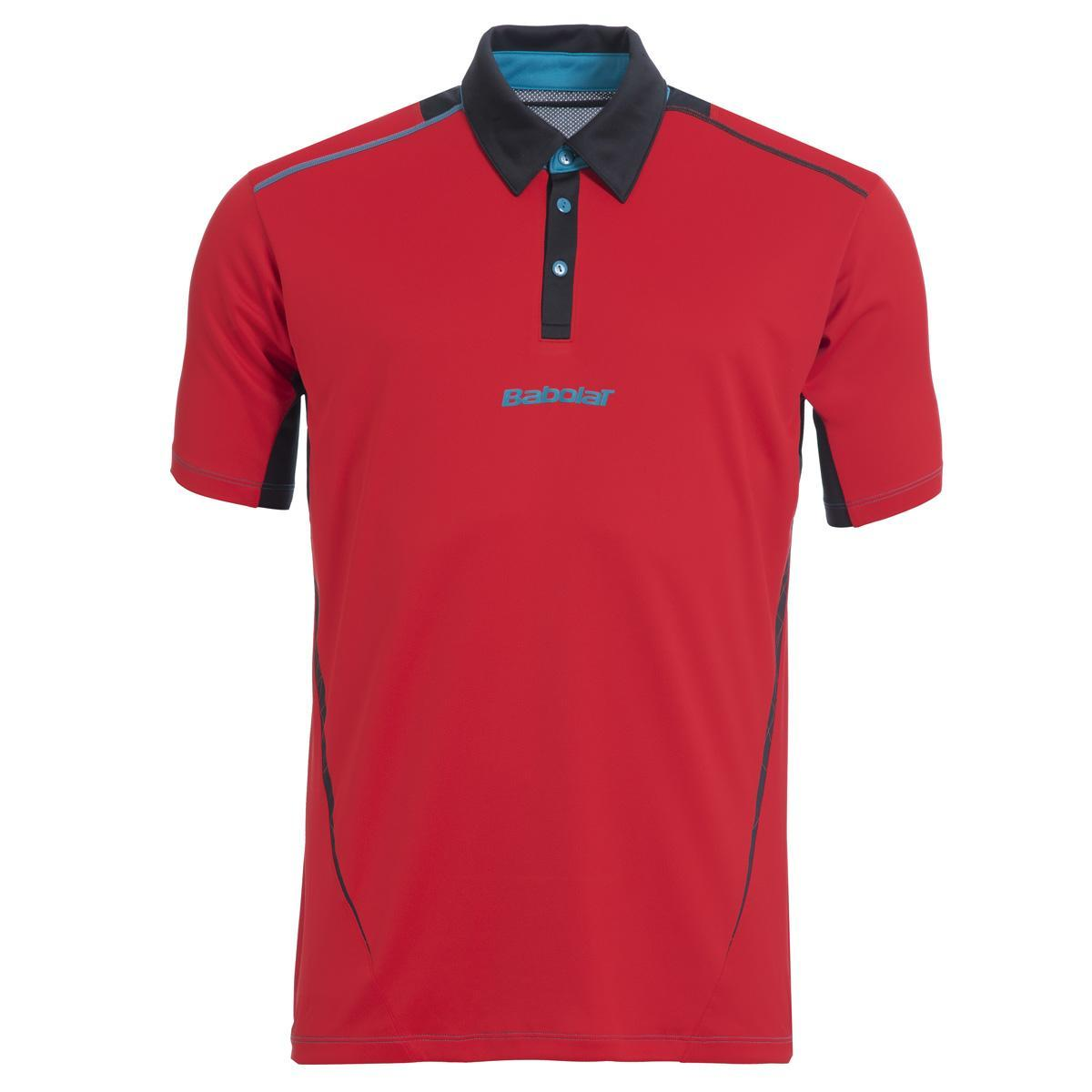 Babolat Boys Match Performance Polo Red