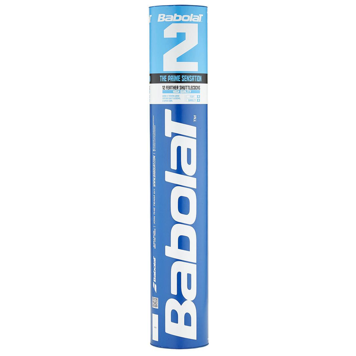 Babolat 2 Feather Badminton Shuttles